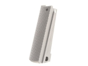 TMC 1911 Mainspring Housing - Checkered - Stainless Steel